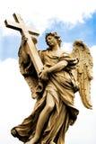 Statua religiosa da Roma fotografia stock libera da diritti