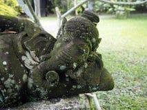 Statua reprezentuje Ganesh w Bali, blisko Ubud zdjęcia royalty free