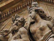 statua rocznik Zdjęcia Stock