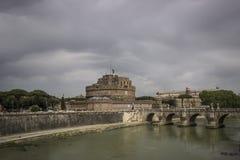 Statua a Roma, Italia Fotografia Stock