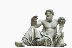 Statua romana isolata Fotografia Stock
