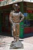 Statua Ronald Reagan w centrum Błyskawiczny miasto Obrazy Stock