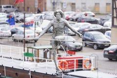 Statua ropewalker Zdjęcie Royalty Free