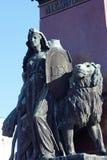 Statua Rosyjski car Aleksander II, Helsinki zdjęcie royalty free