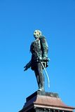 Statua Rosyjski car Aleksander II, Helsinki fotografia stock
