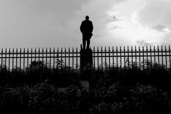 Statua Russia di Lenin Immagine Stock