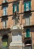 Statua San Gaetano w Naples Campania, Włochy Obrazy Royalty Free
