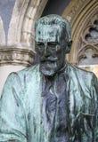 Statua Sandor Karolyi w Budapest W?gry obraz stock