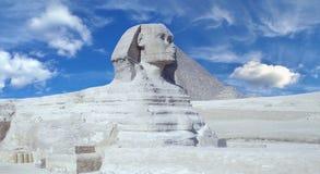 Statua sfinks w Egipt Fotografia Royalty Free