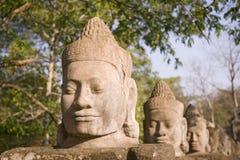Statua in Siem Reap Fotografia Stock