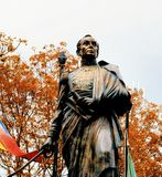 Statua Simon Bolivar obraz stock