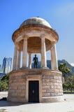 Statua Simon Bolivar a Bogota Colombia Fotografia Stock Libera da Diritti