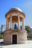 Statua Simon Bolivar w Bogota Kolumbia Fotografia Royalty Free