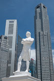 Statua Singapore Immagini Stock Libere da Diritti