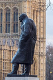 Statua Sir Winston Churchill Zdjęcia Royalty Free