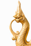 Statua smok. Zdjęcia Royalty Free
