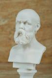 Statua Socrates, starożytnego grka filozof Zdjęcie Stock