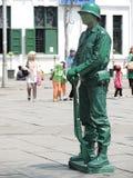 Statua-soldato umano Immagine Stock Libera da Diritti
