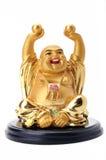 Statua sorridente del Buddha Immagini Stock Libere da Diritti
