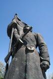 Statua sovietica Immagine Stock