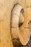 Statua a spirale incrinata Fotografia Stock