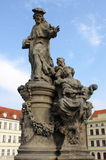 Statua St Ivo w Praga Obraz Stock