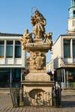 Statua St John Nepomucene poznan Zdjęcie Royalty Free