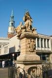 Statua St John Nepomucene poznan Zdjęcie Stock