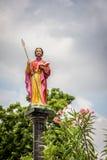 Statua St Thomas apostoł Fotografia Stock
