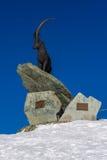 Statua Steinbock Zdjęcie Royalty Free