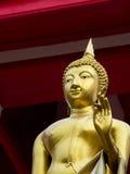 Statua stoi Buddha Obraz Stock