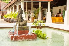 Statua sull'isola di Phuket, Tailandia Immagine Stock Libera da Diritti