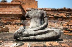 Statua tagliata antica immagine stock