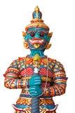Statua tailandese del gigante di stile Fotografia Stock Libera da Diritti