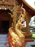 STATUA TAILANDESE DEL NAGA Immagini Stock Libere da Diritti