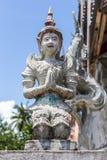 Statua tailandese di angelo Fotografia Stock
