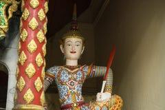 Statua tailandese di angelo Immagini Stock Libere da Diritti