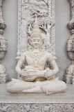 Statua tailandese di angelo di stile in tempio Fotografia Stock Libera da Diritti