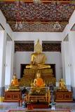 Statua tailandese di Bhuddha Fotografia Stock