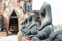 Statua tailandese di Buddha Fotografie Stock
