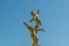 Statua tailandese di Muay fotografie stock libere da diritti