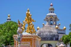 Statua tajlandzki Buddha Zdjęcie Royalty Free