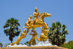 Statua tajlandzki Buddha Fotografia Stock