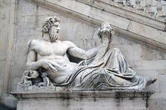 Statua Tevere n.2 Stock Image