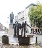 Statua tomas Daibhis w Dublin Zdjęcia Stock