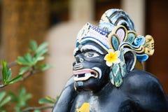 Statua tradizionale di Dio di balinese in tempio di Ubud Fotografia Stock
