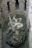 Statua Troja pałac w Praga, republika czech Zdjęcia Royalty Free