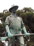 Statua trovata in Santa Anita Park Immagini Stock