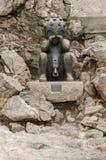 Statua tytułował «dziecka od Mars 2003 « fotografia royalty free