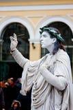 Statua umana Fotografie Stock
